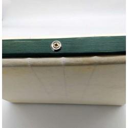 Pandero cuadrado de 36 cm con bordón